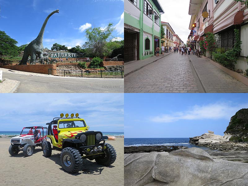 Ilocos Tourist Attractions and Destinations