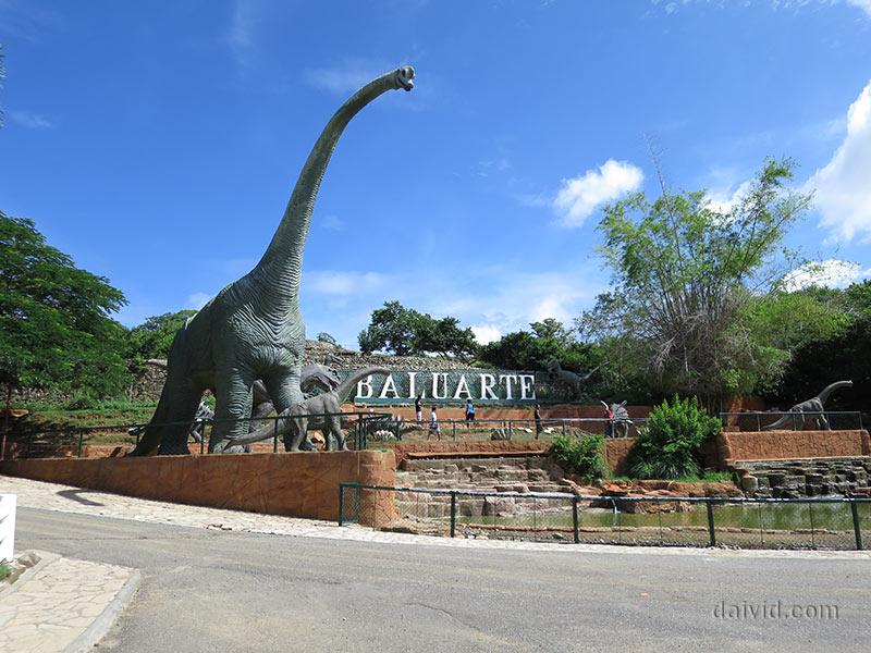 Baluarte Zoo in Vigan City, Ilocos Sur